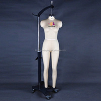 lady dress makers dummy with collapsible shoulder
