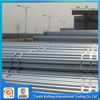 Hot rolled hot dipped galvanized steel round water pipe