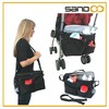 Hot sale multi-functional messenger cooler bag baby stroller organizer