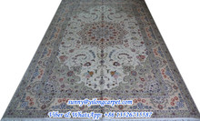 6x9ft persian hand knotted indian wool rugs