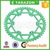TARAZON brand rear aluminum alloy sprocket for Kawasaki klx 250 450