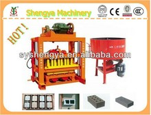 Africa hot sale ISO&CE&SGS quality certificated interlocking brick machine price made in China