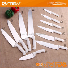 PP handle professional stainless steel knife any size