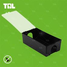 Black Plastic Rat Control Production Rat Bait Trap Pest Control Devices(TLRBS0108)