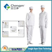 Durable anti static ESD clothes, lab coats