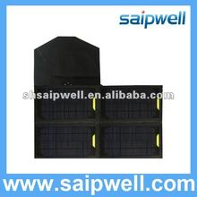 2012 HOT Folding solar charger with battery charger