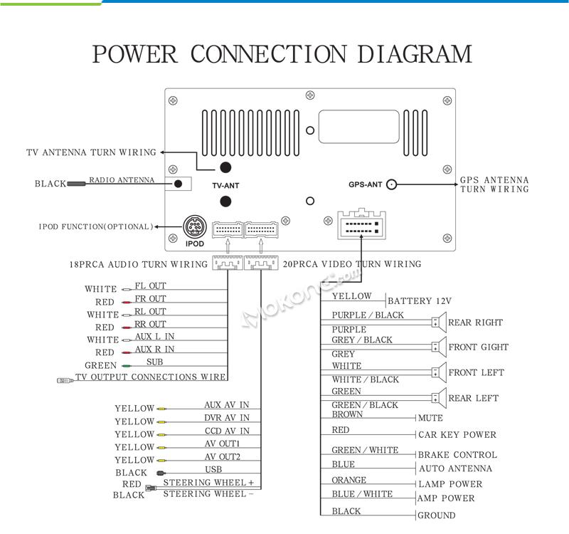 схема для подключения магнитолы в Passat B5