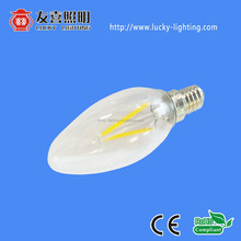 PERFECT 360 degree lighting E14 LED candle light DIMMABLE