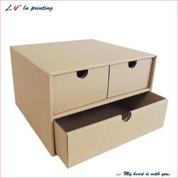 custom cheap plain 3 couple of shoe boxes/ 3 couple of shoe boxes with drawer/ new design for shoe box wholesale