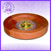 "High quality 14"" wooden roulette wheel game set"