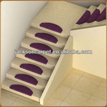 decorative stairs anti slip carpet