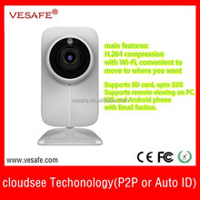 wireless ip camera ios android phone Pan Tilt P2P ip camera Onvif camera