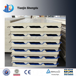 Pu lightweight exterior decorative wall panel building materials