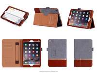 Hot Selling Assorted Color Design Wholesale Price Premium PU Material Tablet Case For ipad mini 4