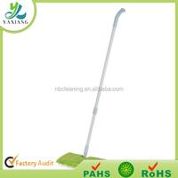 nylon dust mop dust brush Flat mop folding adjustable mop handle