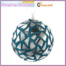 Fashion Outdoor Hanging Craft Teal Christmas balls