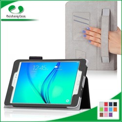 Unbreakable Protective Custom book style PU Leather flip case for ipad cases and covers for Samsung Galaxy Tab A 9.7