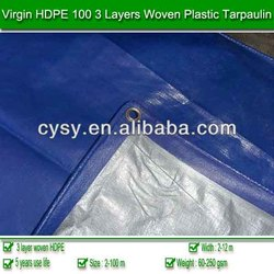 PE tarpaulin,tent material, waterproof outdoor plastic cover, blue poly tarp, made in china