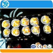 pet plastic disposable plastic sushi food containers with sealed lid