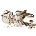 Lifelike Musical Instrument Cufflinks