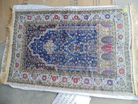Islamic prayer mat prayer rug with mixed colors with high quality