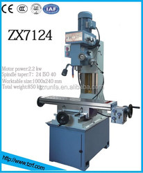 Professional Multifunction Drilling and Milling Machine Tool ZX7124