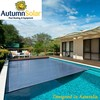 resistant to UV safety pool cover reel with custom made service