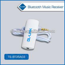 Factory supply! TS-BT35A03 3.5mm bluetooth adapter, bluetooth music receiver