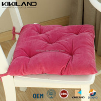 Deep Pink Soft Floor Seat and PP Cotton Chair Pad 46*46cm