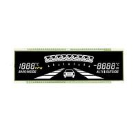 VATN super black custom display lcd for car audio