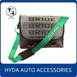 2015 Factory Direct JDM Green Harness Racing Bride Sling bag Backpacks