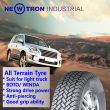 Wa80+ BOTO manufacture China cheap price all terrain 4*4 LT215/85R16 light truck tyre