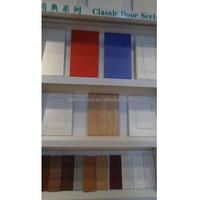 hot sale high glossy PVC melamine UV kitchen cabinet door with modern design style