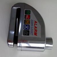 2014 New alarm bike lock, alarm disc lock, motorcycle lock alarm