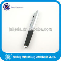 Chaoqun short metal roller ballpoint pen for carrying&gift,EVA pen
