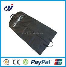 Custom printed reusable hanging garment bag travel