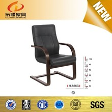 Newly simple chair designs wood relaxing office chair base with 5 years warranty