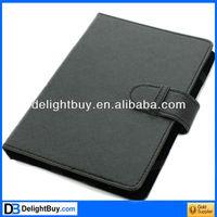 "7"" PU Leather Bag Cover Case for Ebook Reader Black"