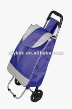 folding polyester shopping trolley bag