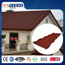 Stone coated roof tile artificial building material prices in nigeria