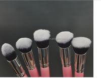 YASH 2015 New Pro High Quality private label 10 pcs private label makeup brush set kabuki brush