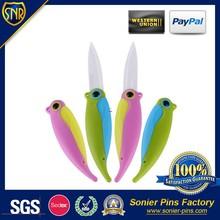 cartoon bird metal knife