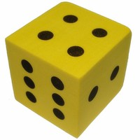 EVA Dice for baby playing games