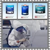 weathering & chemical & corrosion resistant Easicoat 1k basecoat, 1k silver color, 1k pear color