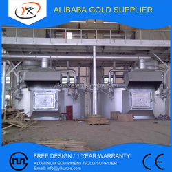 1000T Enviromental Protection Aluminum Heat Accumulating Type Melting Holding Furnace
