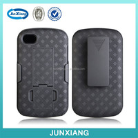 2015 new product protective kickstand plastic case for Blackberry Q10