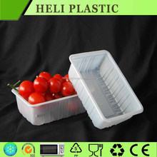 Hot sales cherry tomato packaging/PET cherry tomatoes packaging box on sale