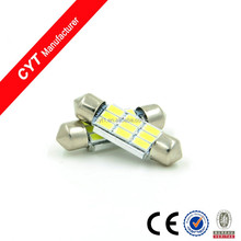 36mm 12V 3W 5730 9SMD White LED Car Dome Light Festoon reading light