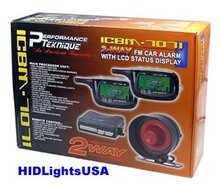 2-Way Car Alarm System w/ Remote Start