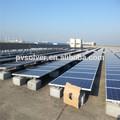 galvanizado teto solar suporte de teto trilhos rack de teto suportes fotovoltaicos telhado suportes de montagem